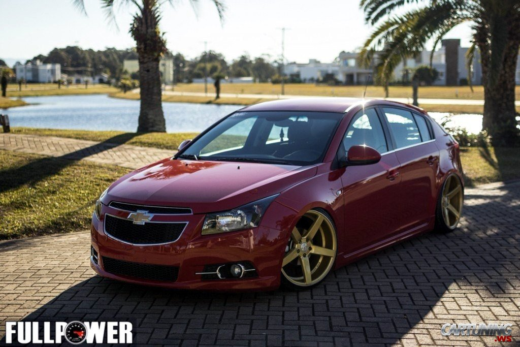 4247 Stanced Chevrolet Cruze Hatchback on opel calibra car