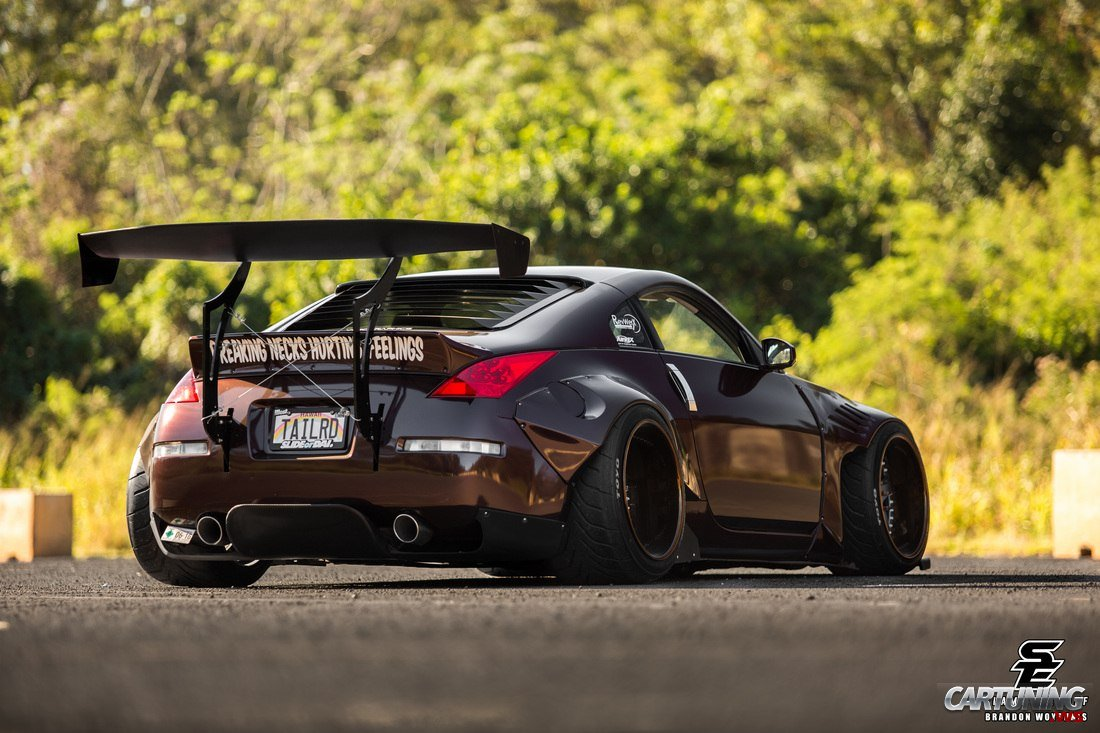 stanced nissan 350z wallpaper - photo #28