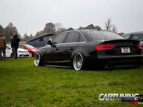 stanced audi a4 b8 rear. Black Bedroom Furniture Sets. Home Design Ideas