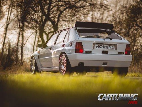 Tuned Lancia Delta HF Integrale