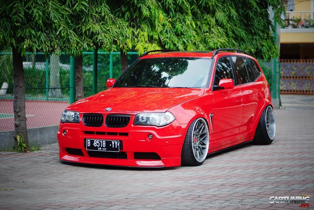 stanced bmw x3 e83. Black Bedroom Furniture Sets. Home Design Ideas