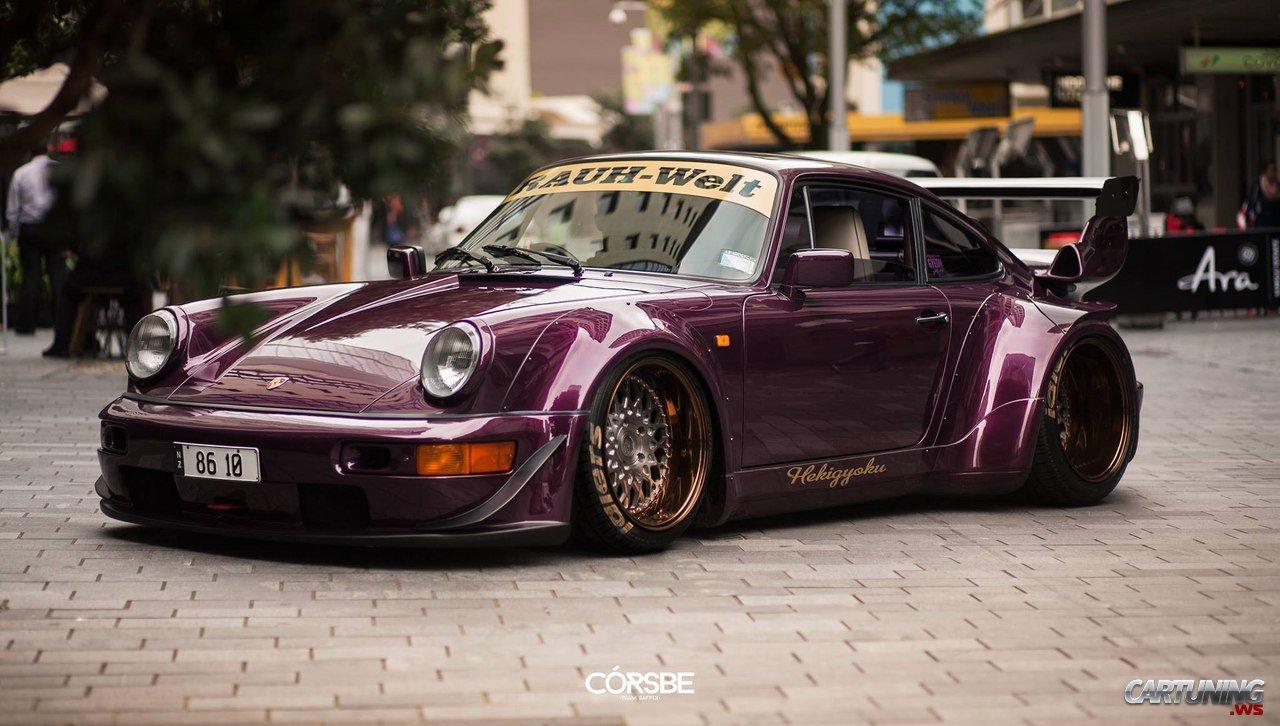 Stanced Porsche 911 Rauh Welt