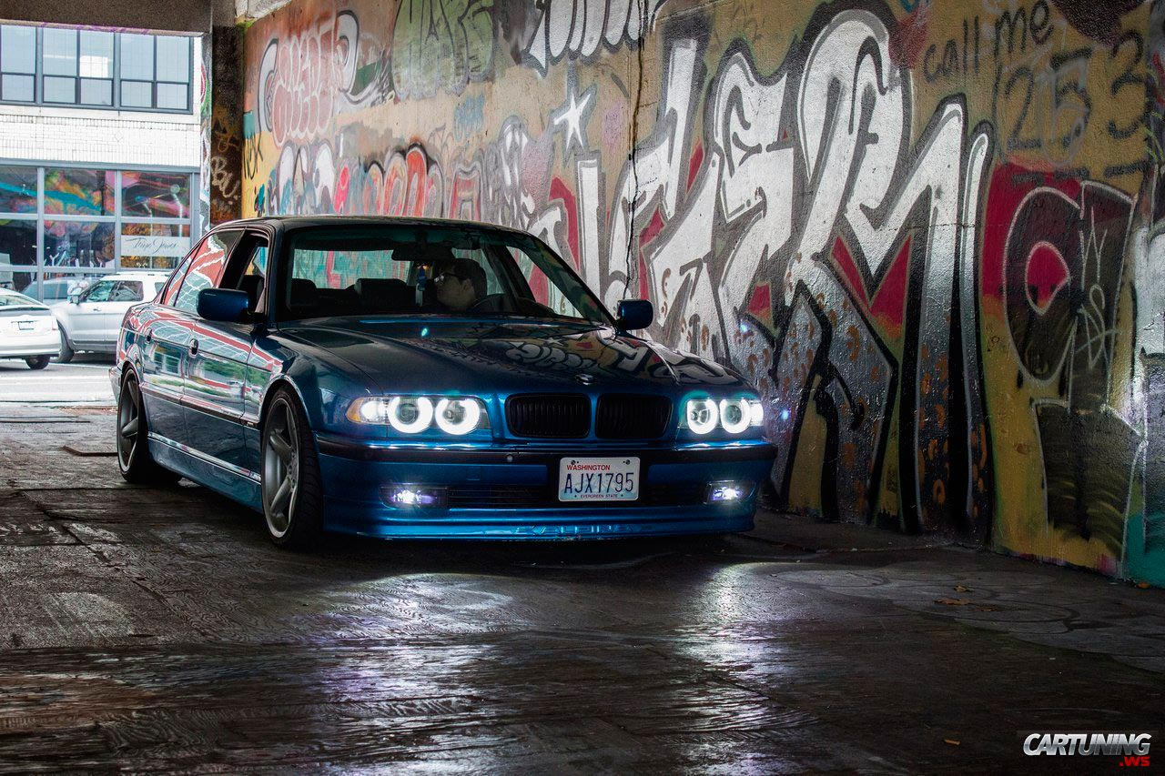 Tuning Bmw 740i E38 Front