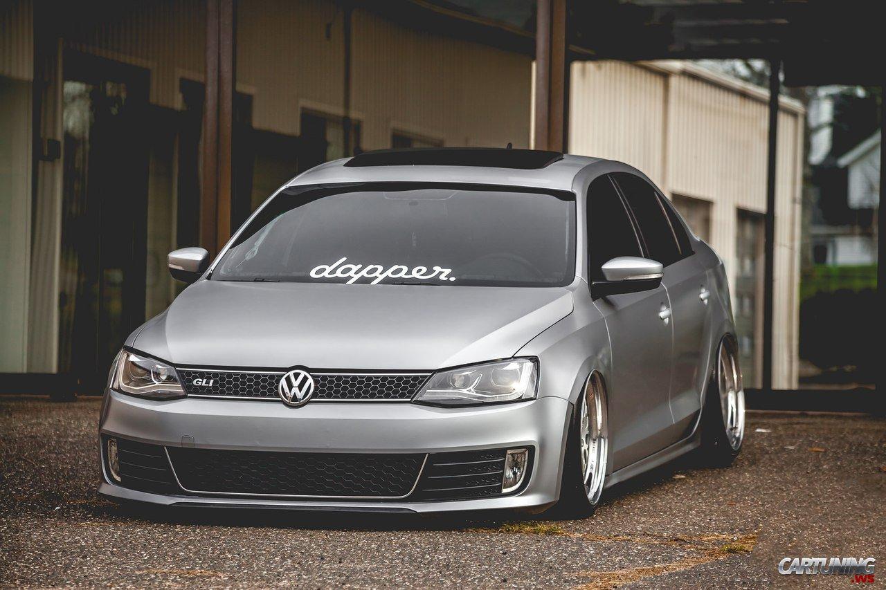 Vw Scirocco Usa >> Stanced Volkswagen Jetta GLI