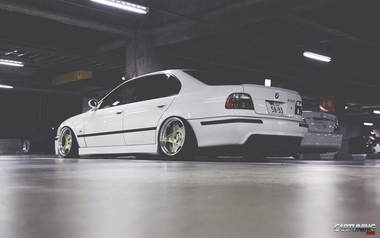 stanced bmw 530i e39 rear. Black Bedroom Furniture Sets. Home Design Ideas