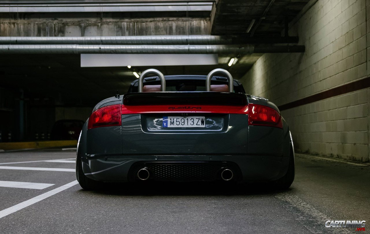 Tuning Audi Tt Roadster 8n Rear