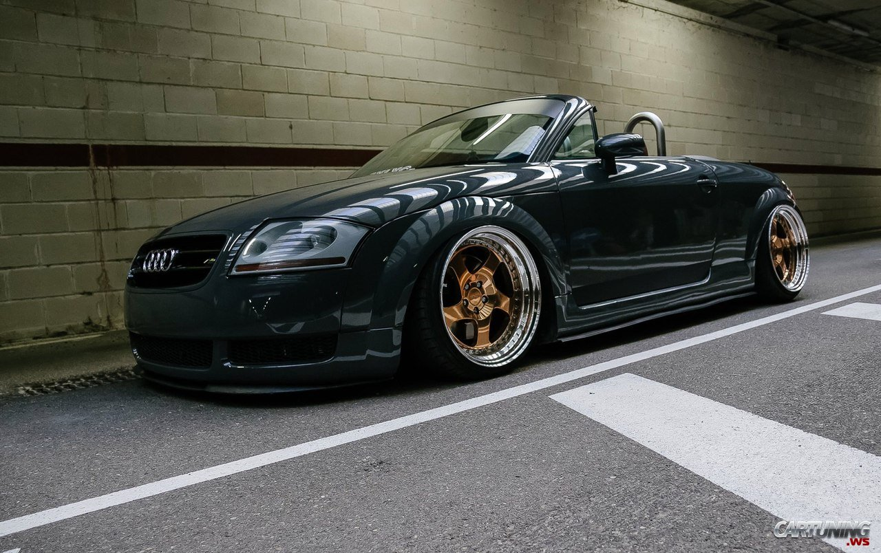 Tuning audi tt roadster 8n for Audi tt 8n interieur tuning