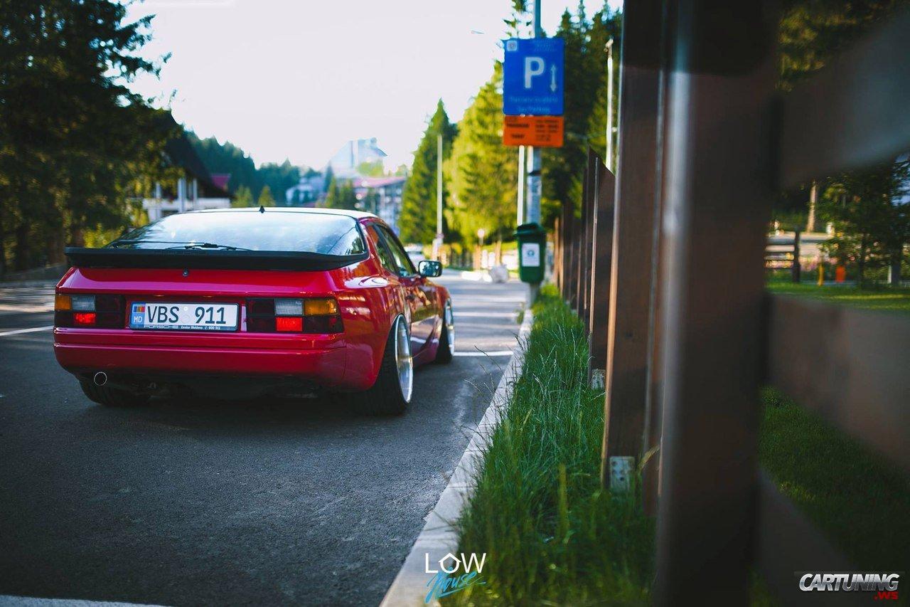 Tuning Porsche 924 Rear