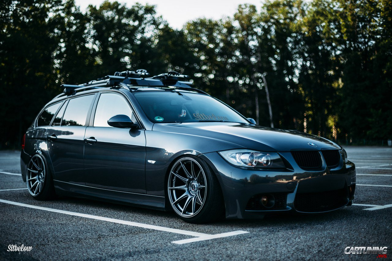 Stanced Bmw 330i Touring E91