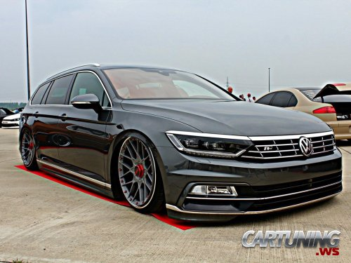 stanced volkswagen passat variant b8. Black Bedroom Furniture Sets. Home Design Ideas