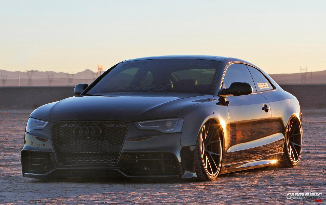 stance audi a5 2 0t 2016. Black Bedroom Furniture Sets. Home Design Ideas