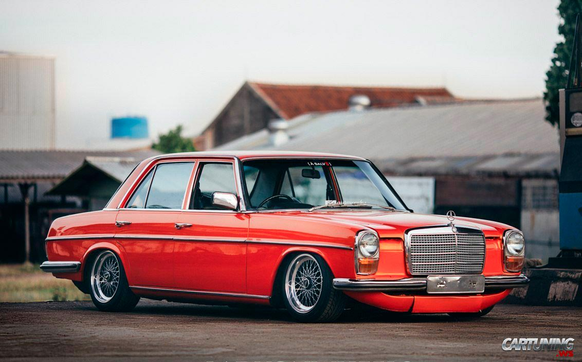 Tuning mercedes benz 280 w114 for Mercedes benz tuning