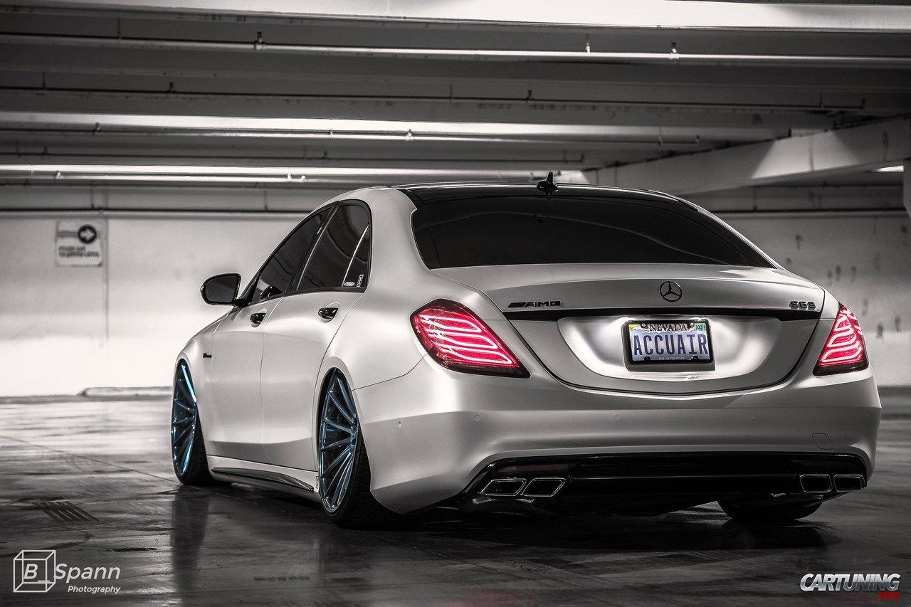 Low Mercedes Benz S63 Amg W222 Rear