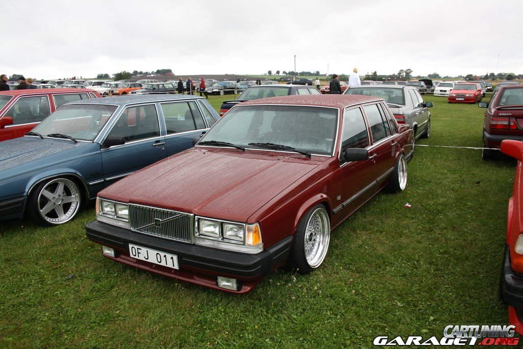 tuned volvo 740 front. Black Bedroom Furniture Sets. Home Design Ideas