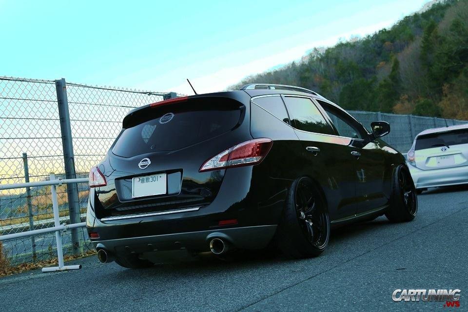 Tuning Nissan Murano 2015 rear