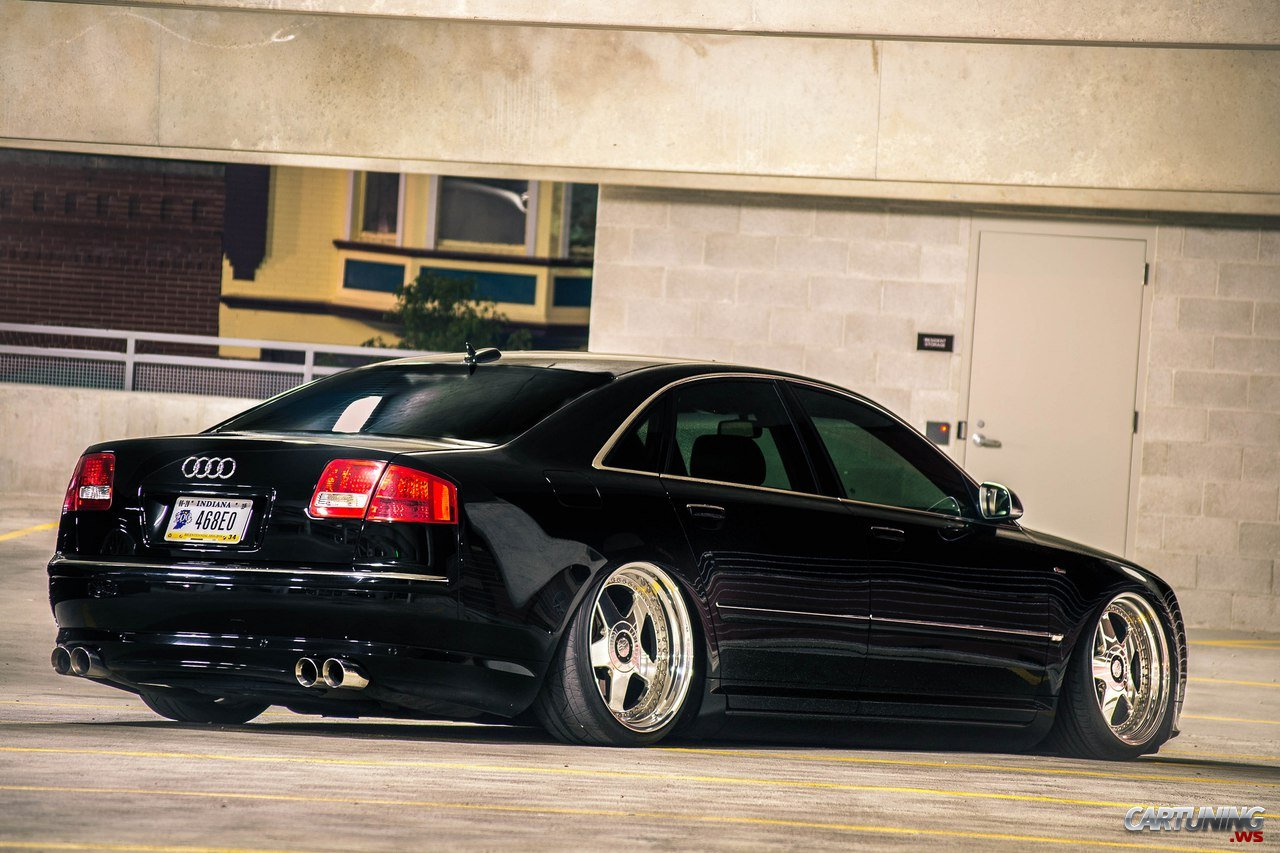 Stanced Audi A8 D3 2010 187 Cartuning Best Car Tuning