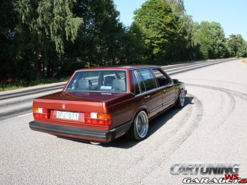tuned volvo 740 rear. Black Bedroom Furniture Sets. Home Design Ideas