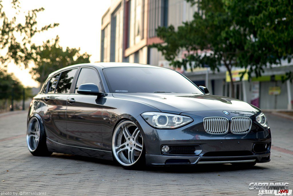 stanced bmw 118i f20. Black Bedroom Furniture Sets. Home Design Ideas