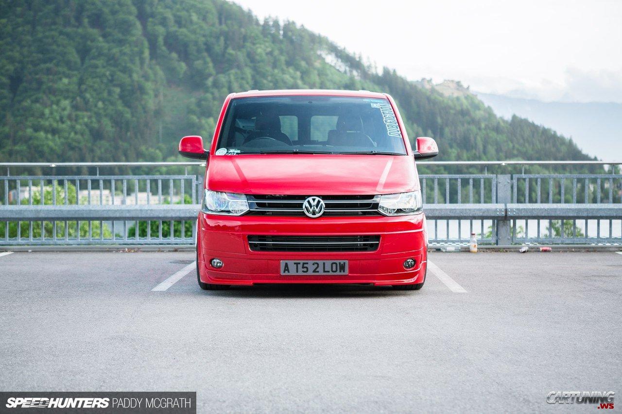 Tuning Volkswagen Transporter T6 Front