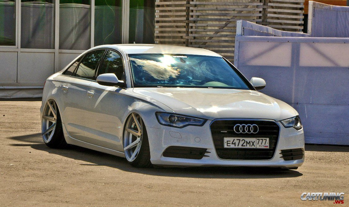 stanced audi a6 c7 cartuning best car tuning photos. Black Bedroom Furniture Sets. Home Design Ideas