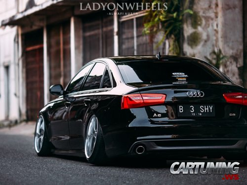 tuning audi a6 2 8fsi c7 rear. Black Bedroom Furniture Sets. Home Design Ideas