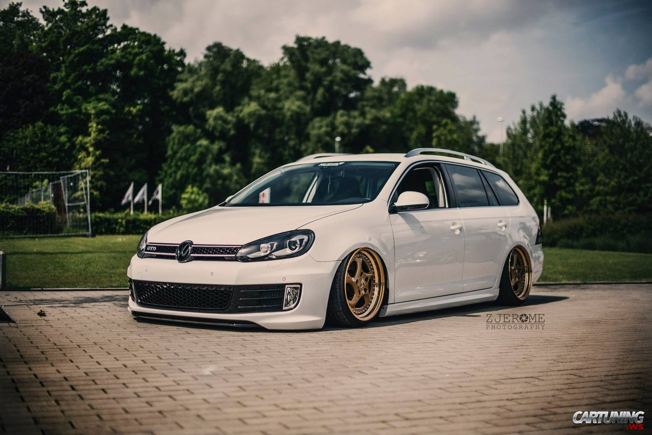 tuning volkswagen golf gtd variant mk6 left side and front. Black Bedroom Furniture Sets. Home Design Ideas