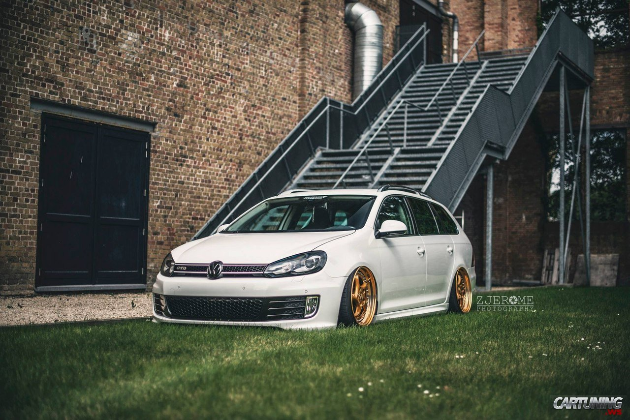 tuning volkswagen golf gtd variant mk6 side. Black Bedroom Furniture Sets. Home Design Ideas