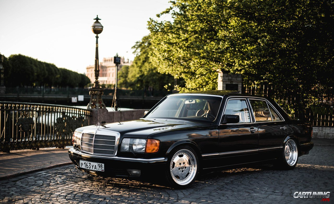 Stanced mercedes benz 560sel w126 for Mercedes benz 560sel