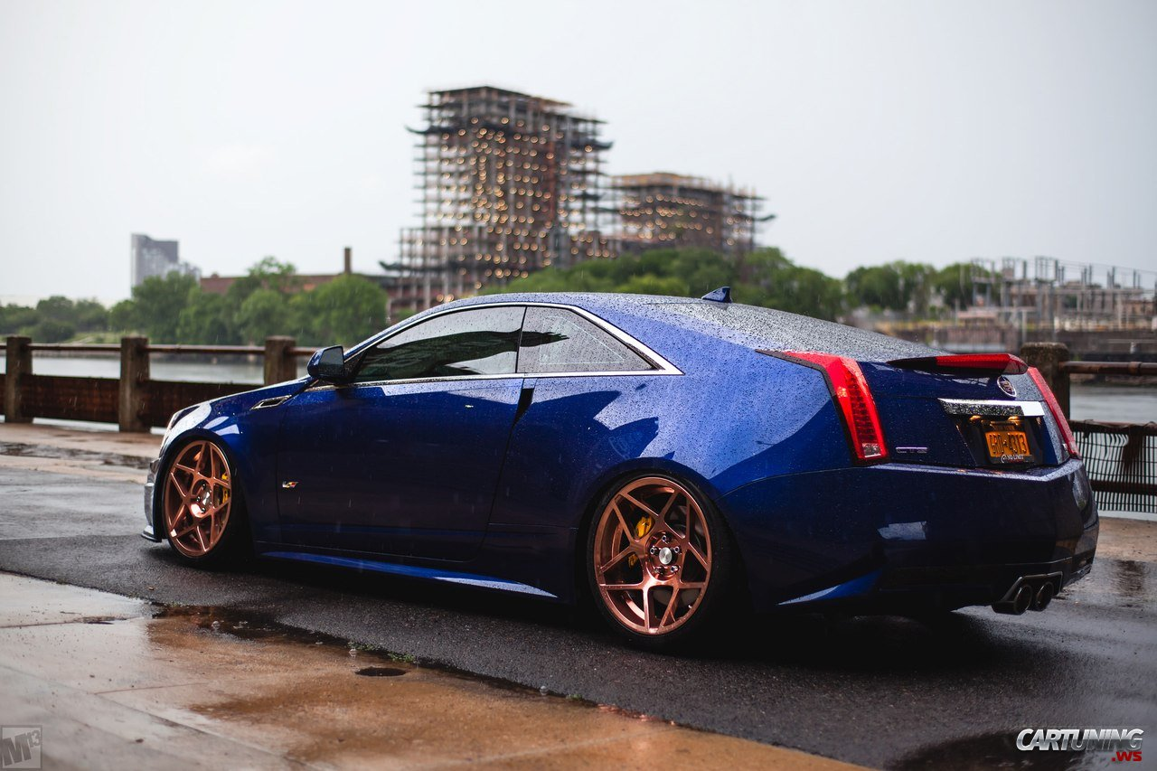 Stanced Cadillac Cts V Coupe