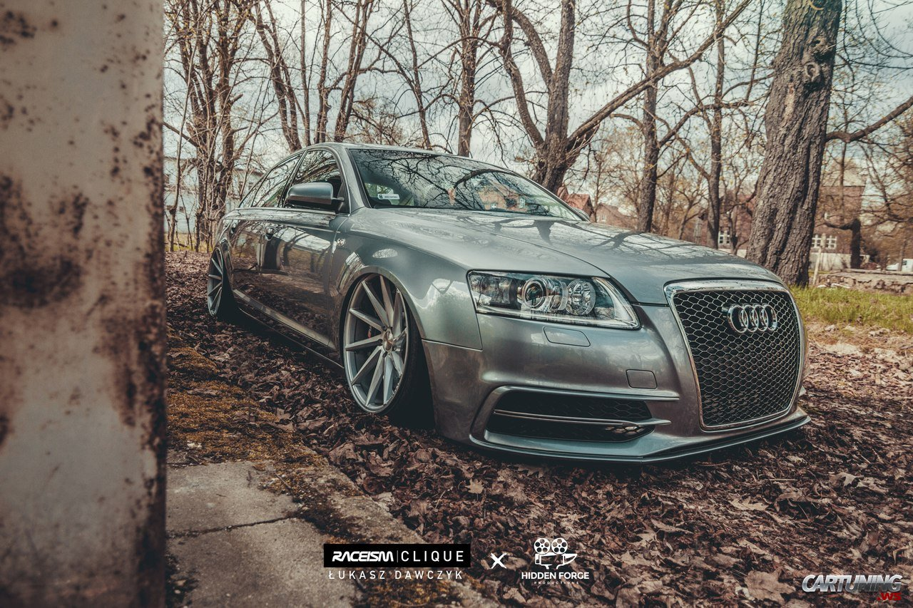 Tuning Audi A6 C6 Side
