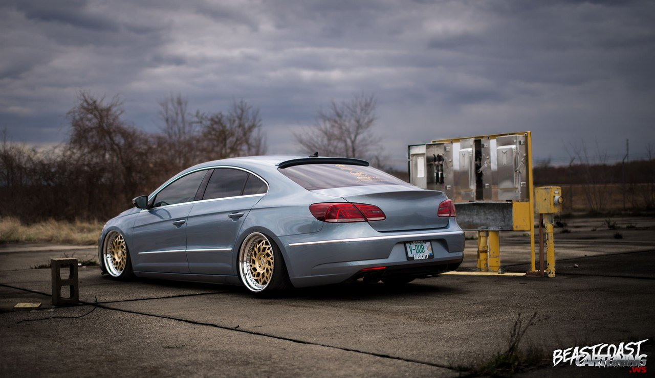 Subaru Legacy Lowered >> Stanced Volkswagen Passat CC rear