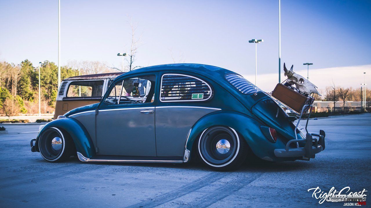Stanced Volkswagen Beetle 187 Cartuning Best Car Tuning Photos From All The World