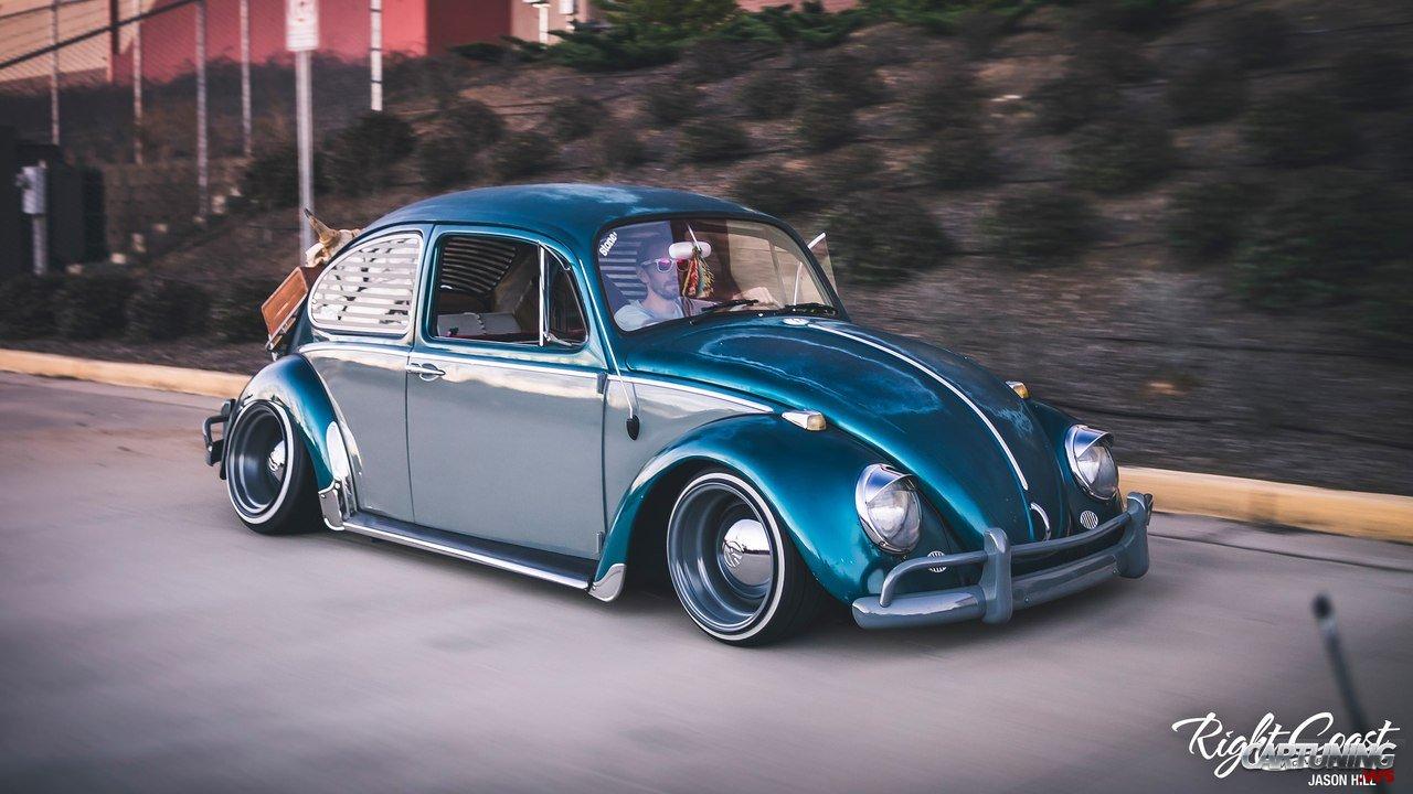 Stanced Volkswagen Beetle