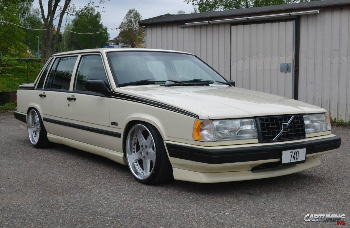 Volvo 740 Turbo Stance