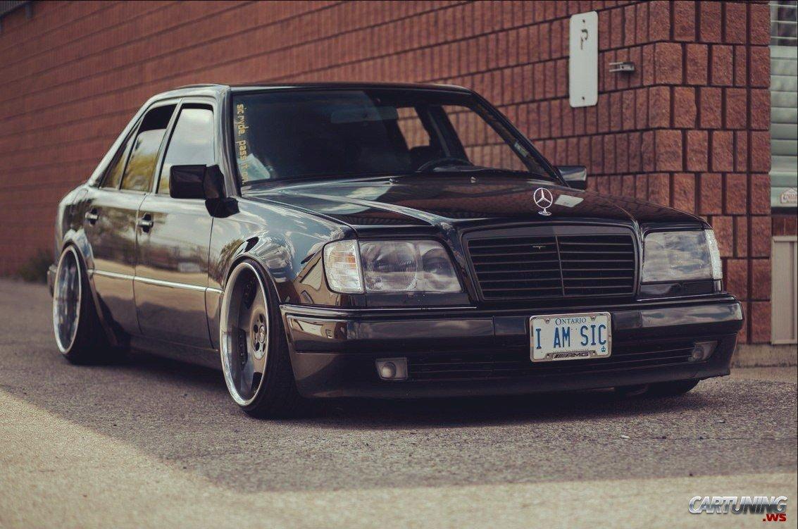 Subaru Legacy Stanced >> Stanced Mercedes-Benz 500E W124