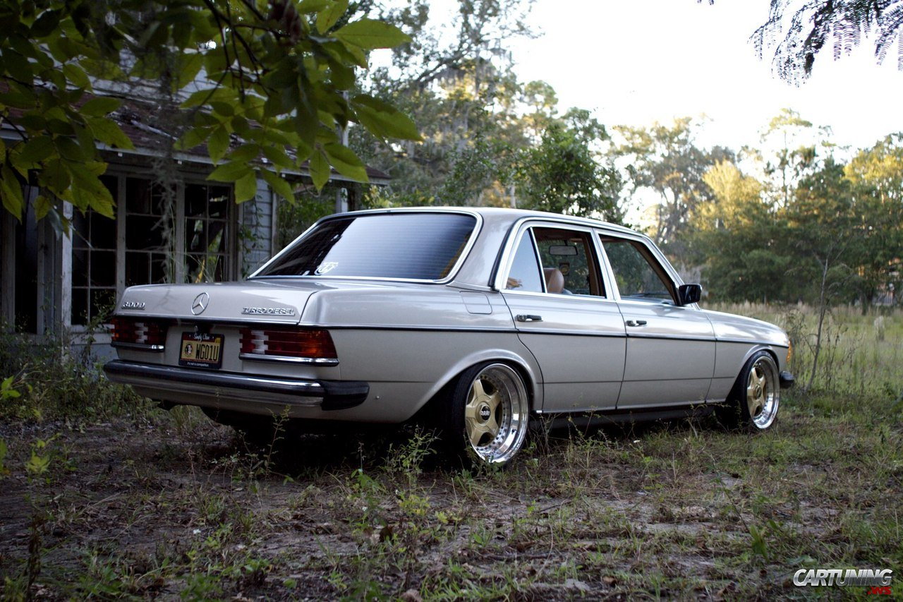 Tuning Mercedes Benz 300d W123 187 Cartuning Best Car