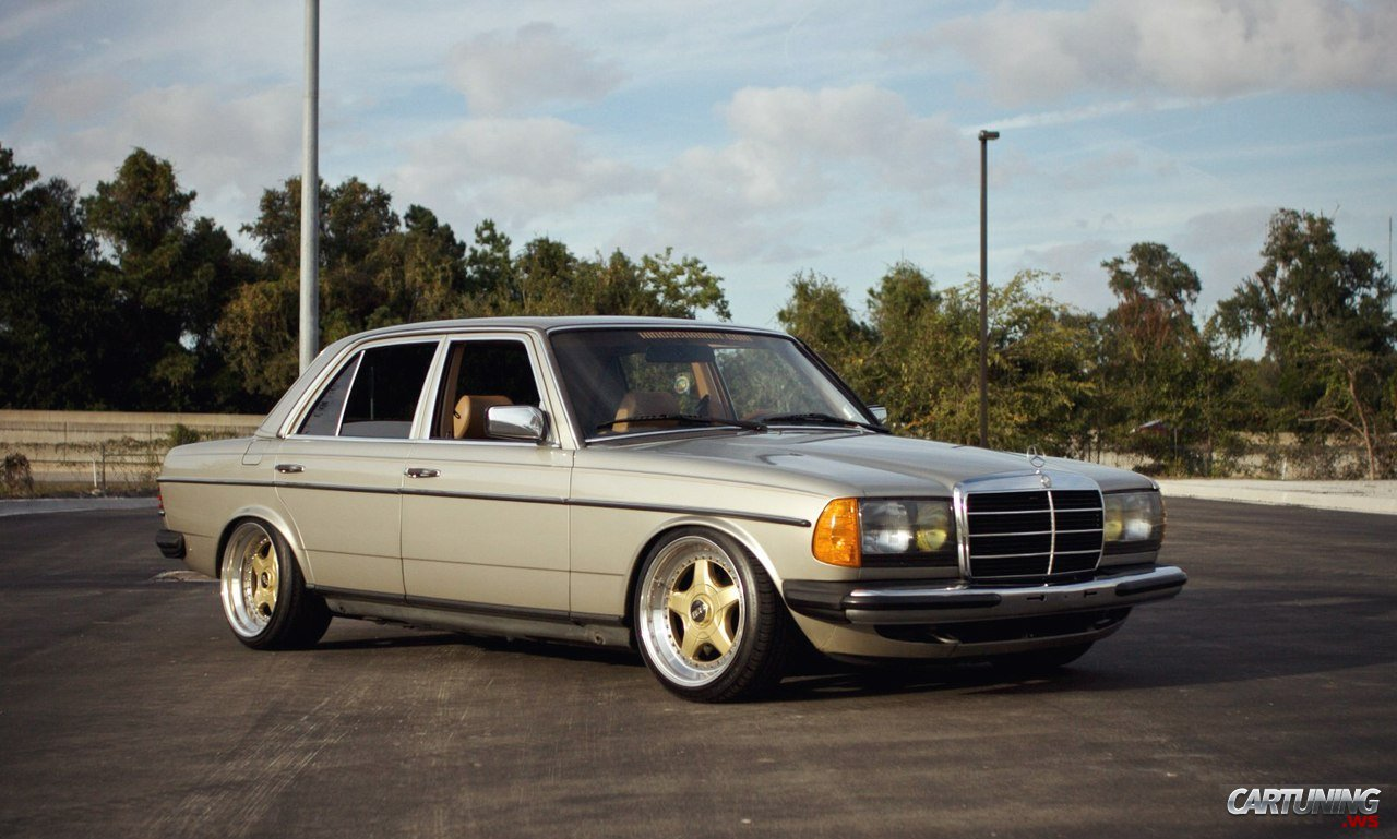 Tuning Mercedes Benz 300d W123