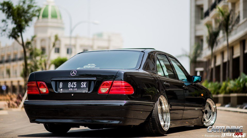 Stance Mercedes Benz E280 W210 187 Cartuning Best Car