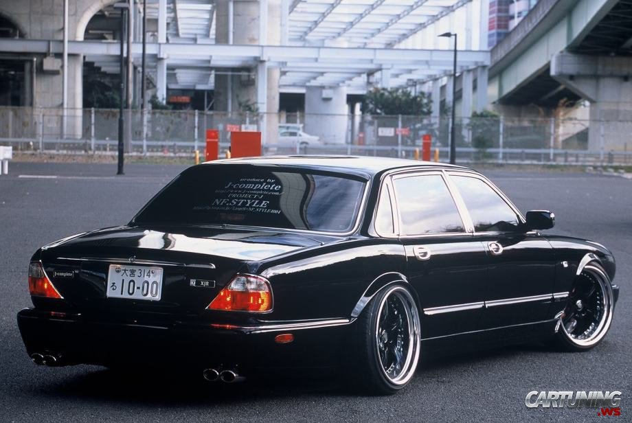 Low Jaguar XJR rear