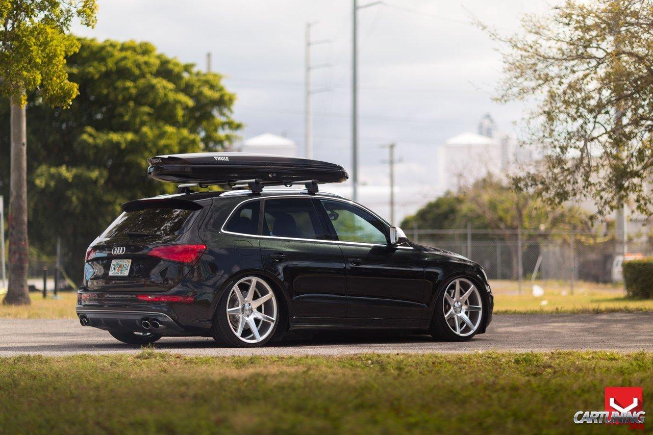 Low Audi SQ5 side