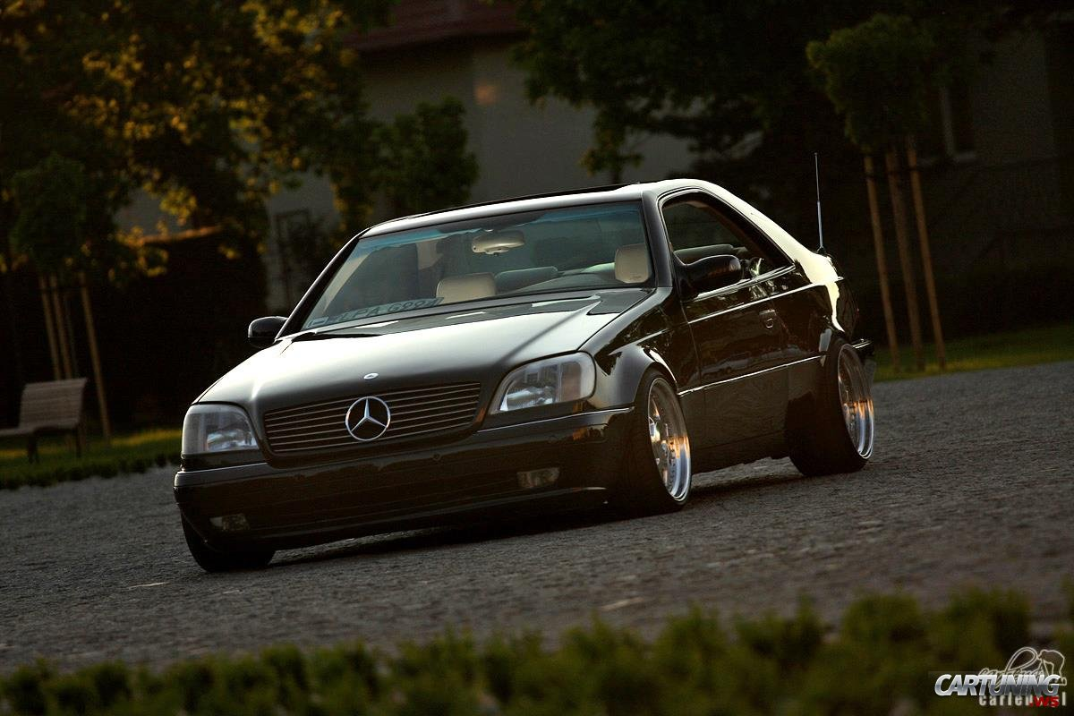 Tuning mercedes benz s600 coupe c140 for Mercedes benz s600
