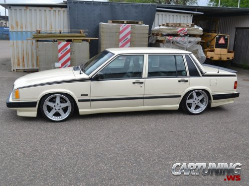 volvo 740 turbo stance side. Black Bedroom Furniture Sets. Home Design Ideas