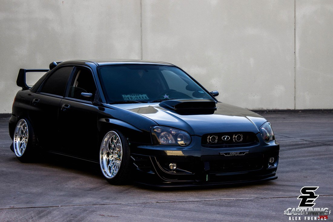 lowered subaru impreza wrx sti front. Black Bedroom Furniture Sets. Home Design Ideas