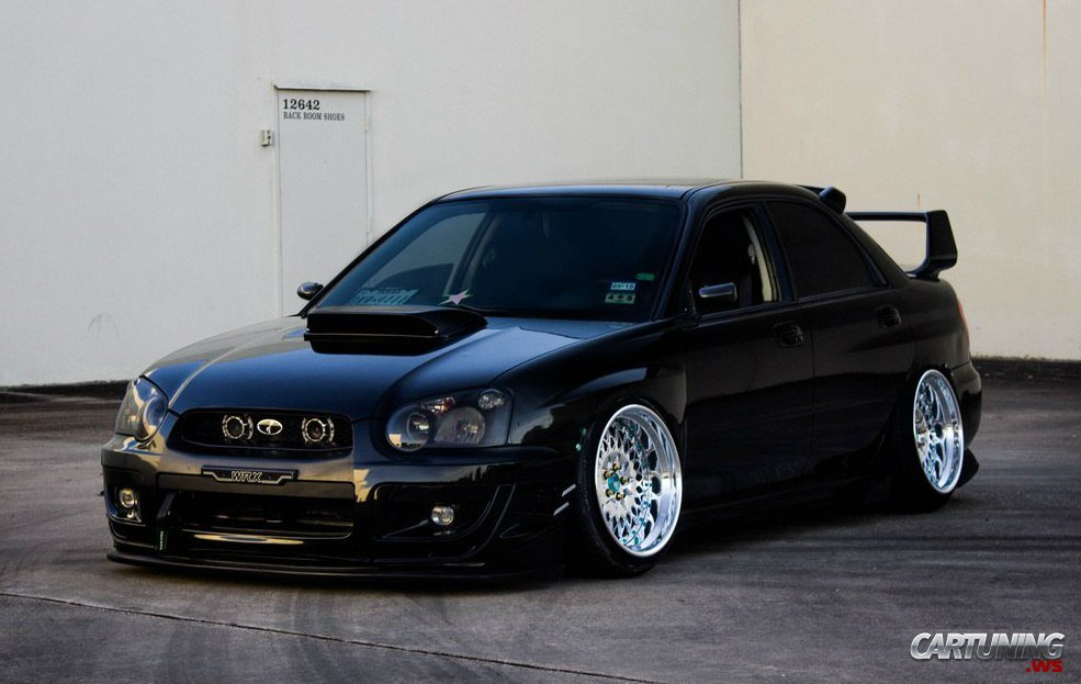 Lowered Subaru Impreza Wrx Sti