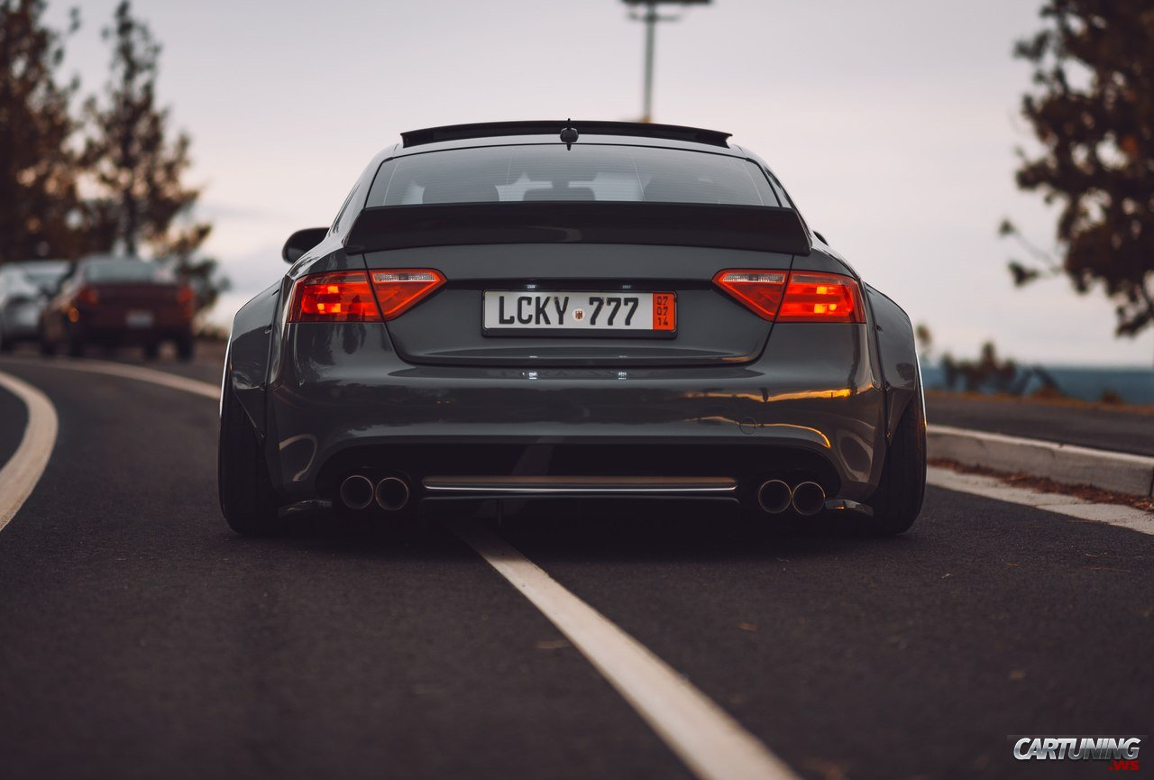 Audi A 3 2010 >> Tuning Audi A5 Wideboby rear