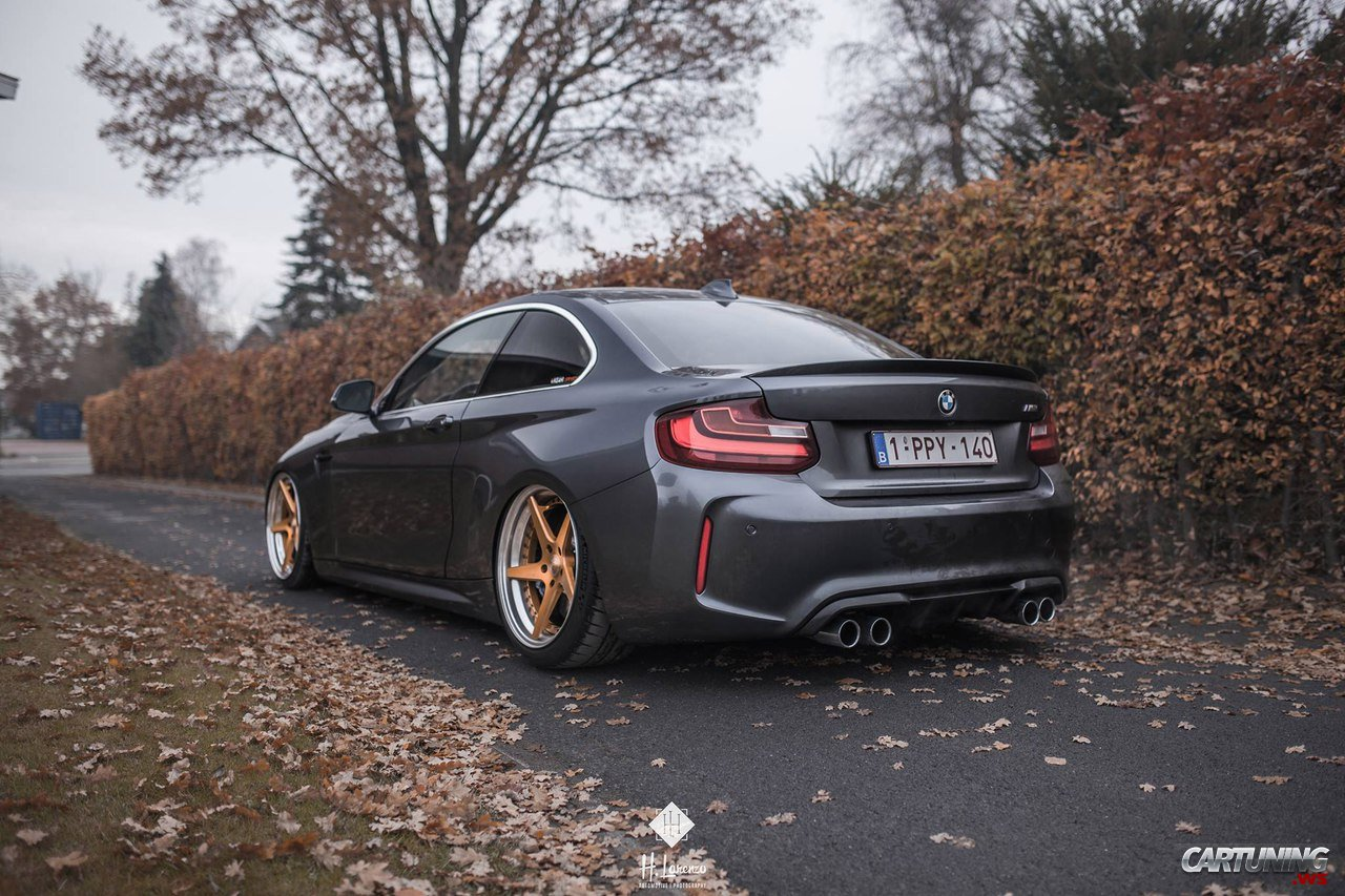 bmw m2 f87 on air rear. Black Bedroom Furniture Sets. Home Design Ideas