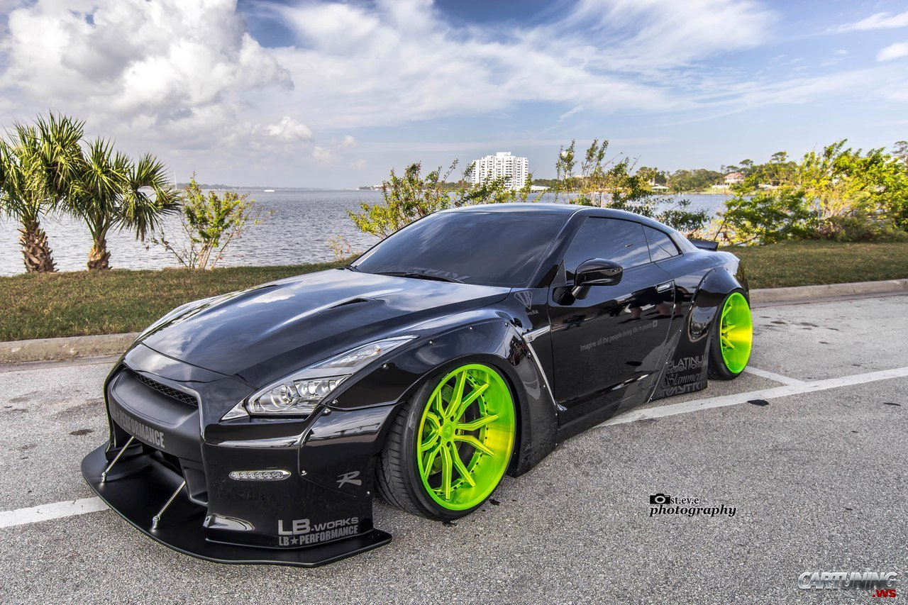nissan gt r r35 liberty walk. Black Bedroom Furniture Sets. Home Design Ideas