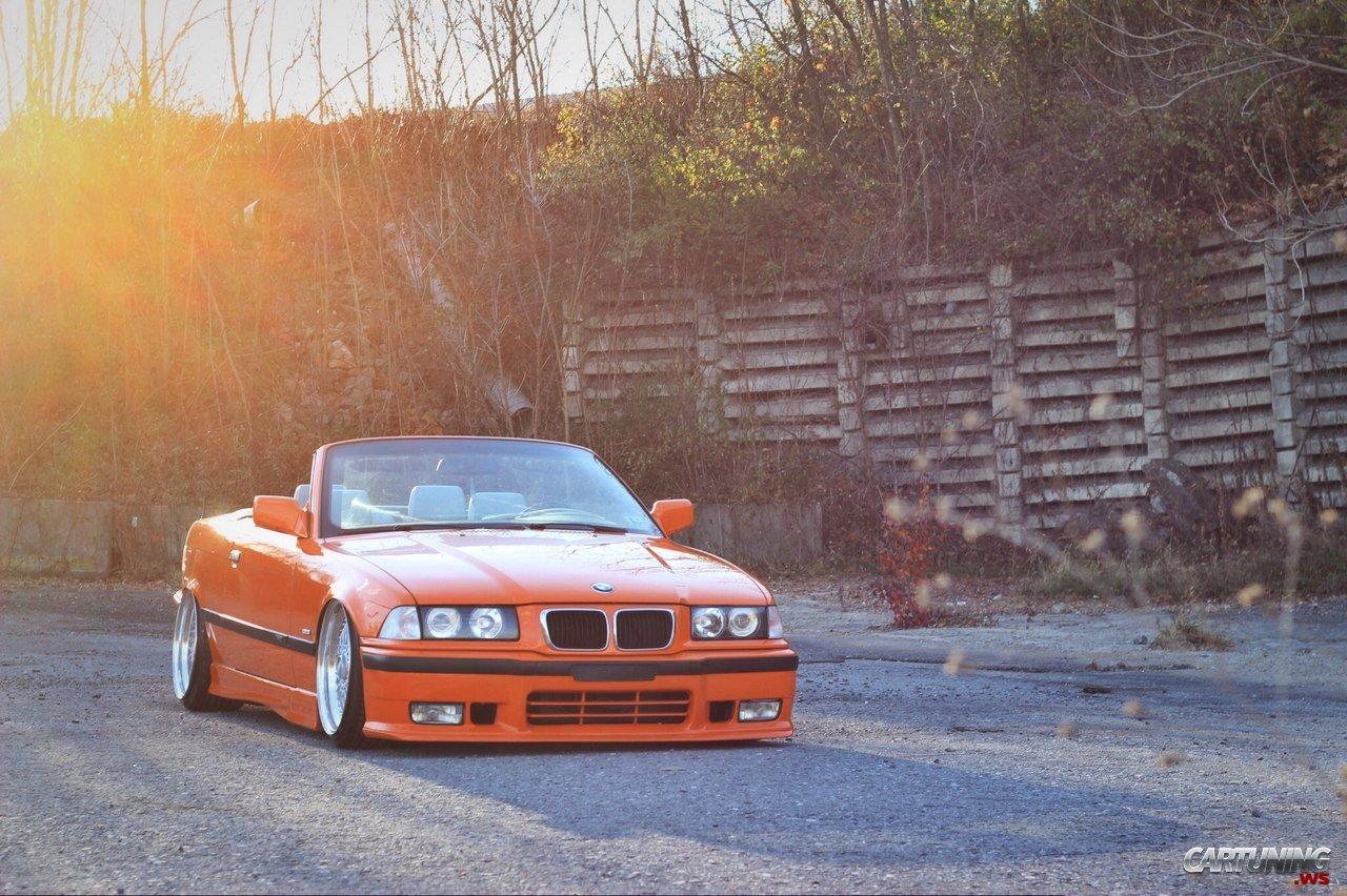 Volvo S90 Convertible >> Slammed BMW M3 Cabrio E36 front