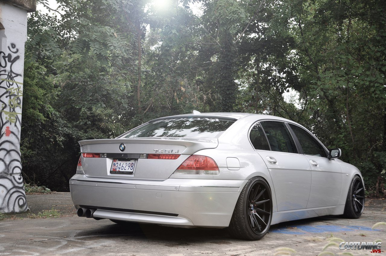 stance bmw 745i e65  u00bb cartuning best car tuning photos mitsubishi outlander stance
