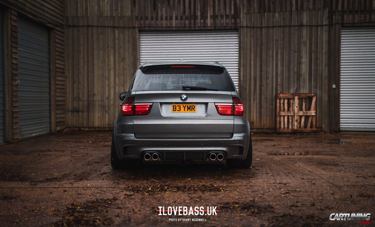 stance bmw x5 e70 rear. Black Bedroom Furniture Sets. Home Design Ideas